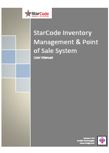 StarCode POS user manual
