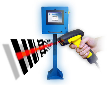 how to use barcode scanner for login